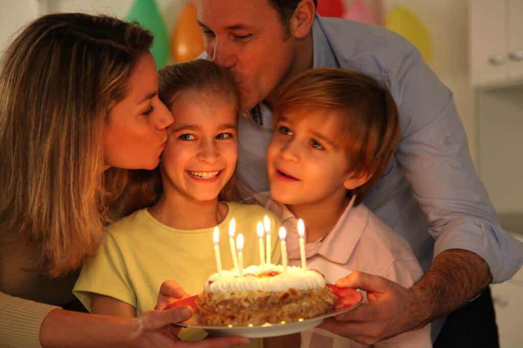 20 ways to make a kid's birthdays special without throwing a big party or going over budget. Make Kid's birthdays special without spending a fortune.