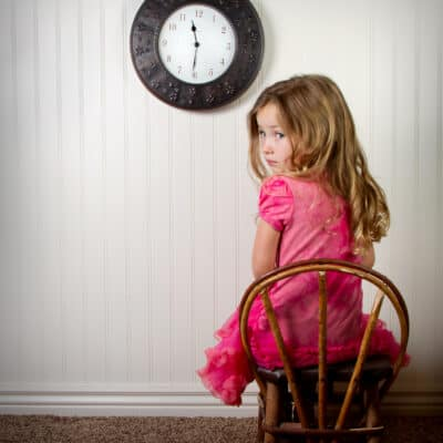 How to use time outs correctly with kids so you don't break their spirit. How to discipline toddlers.