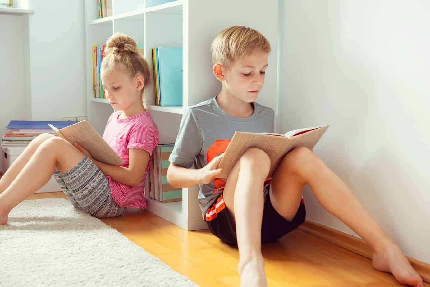 child reading level and reading books
