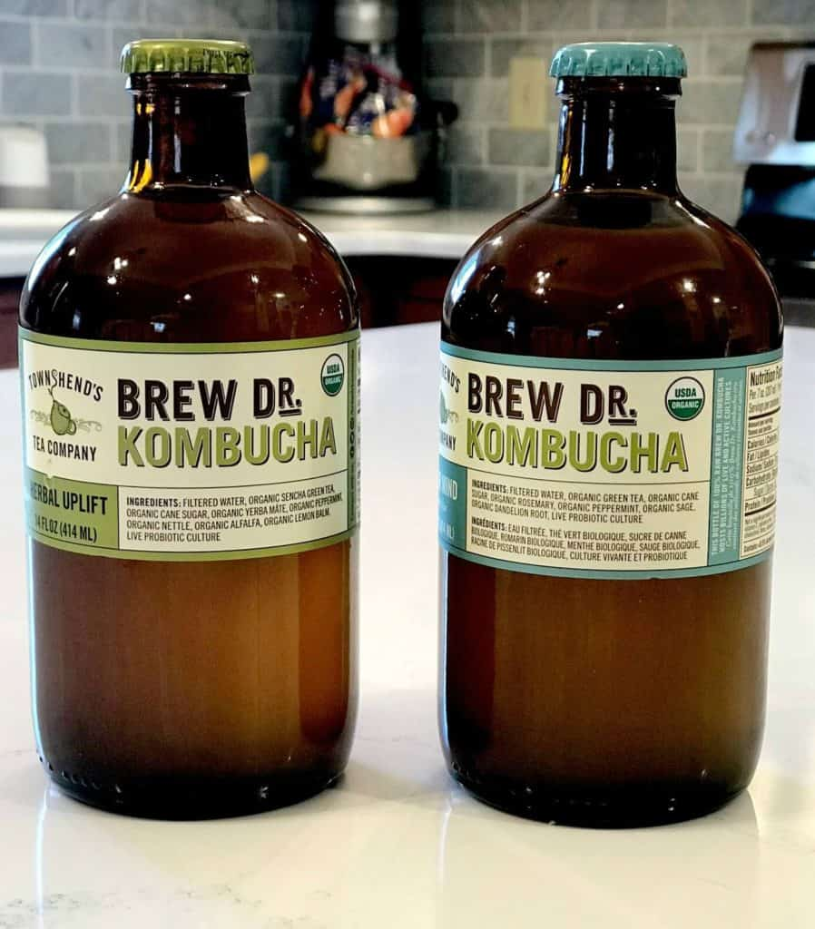 kombucha probiotic drink
