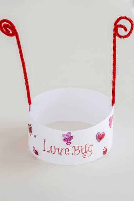 love bug hat valentines day crafts for toddlers