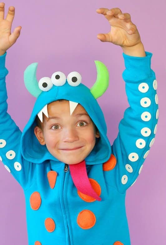 monsters costume homemade halloween costumes you can make
