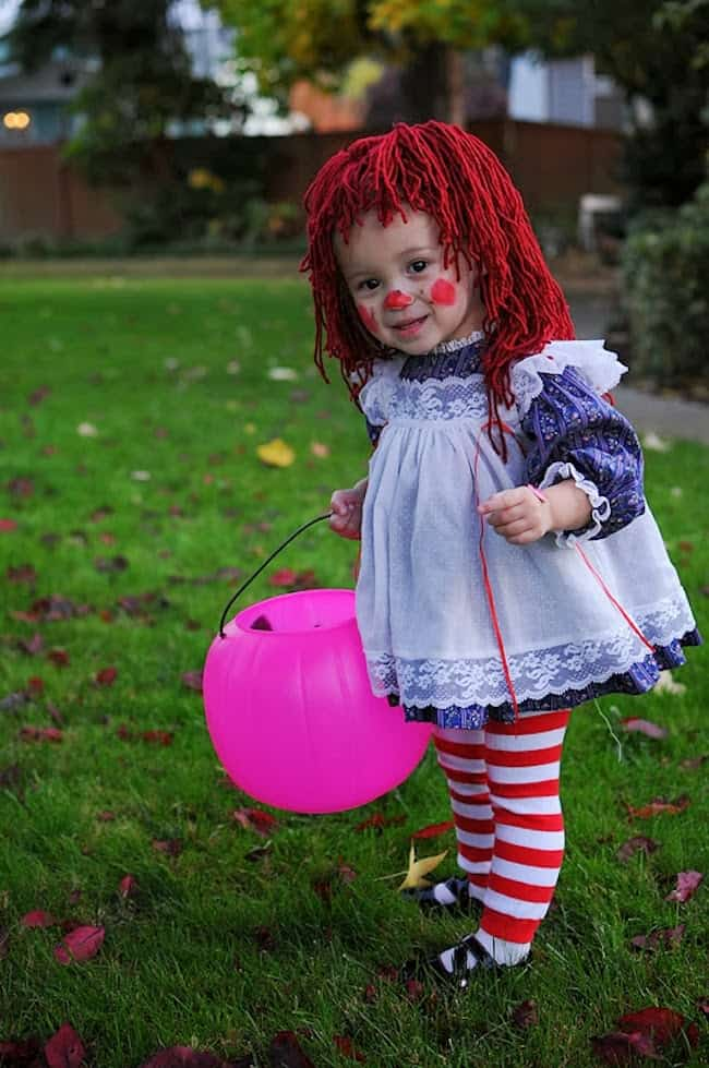 raggedy-anna-costume homemade halloween costumes you can make