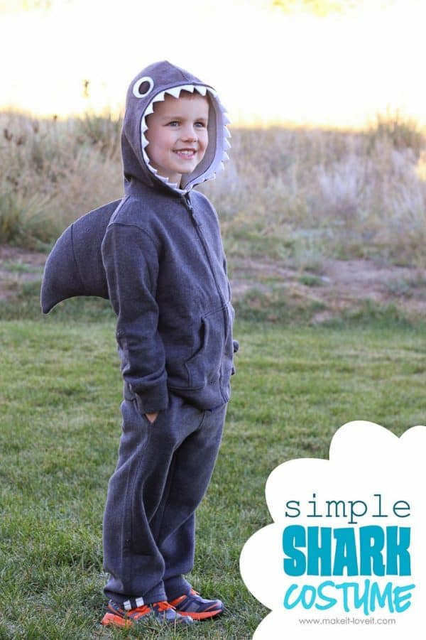 shark costume homemade halloween costumes you can make