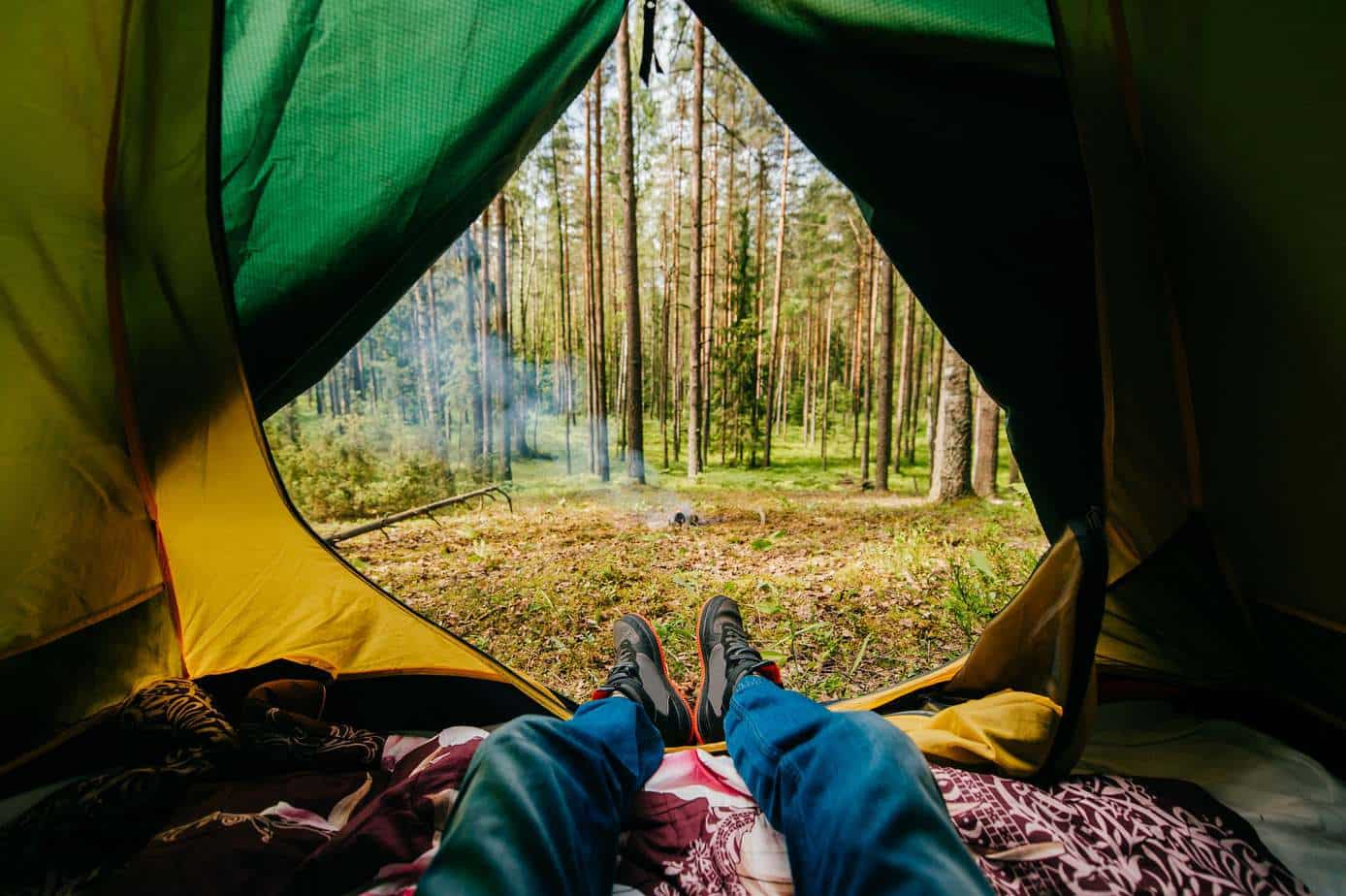 tent camping for beginners and camping tips to help you have a great camping experience