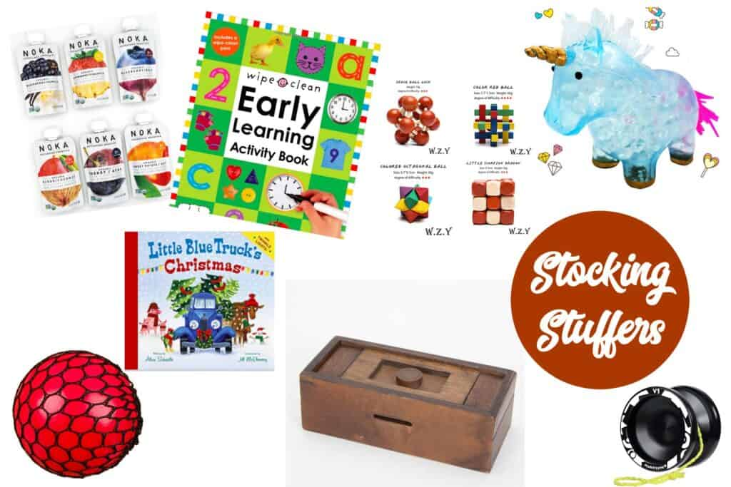 toddler and kids stocking stuffers