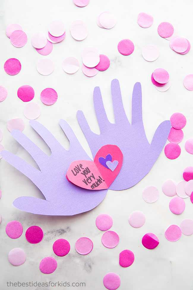 handprint valentines-day-crafts for toddlers