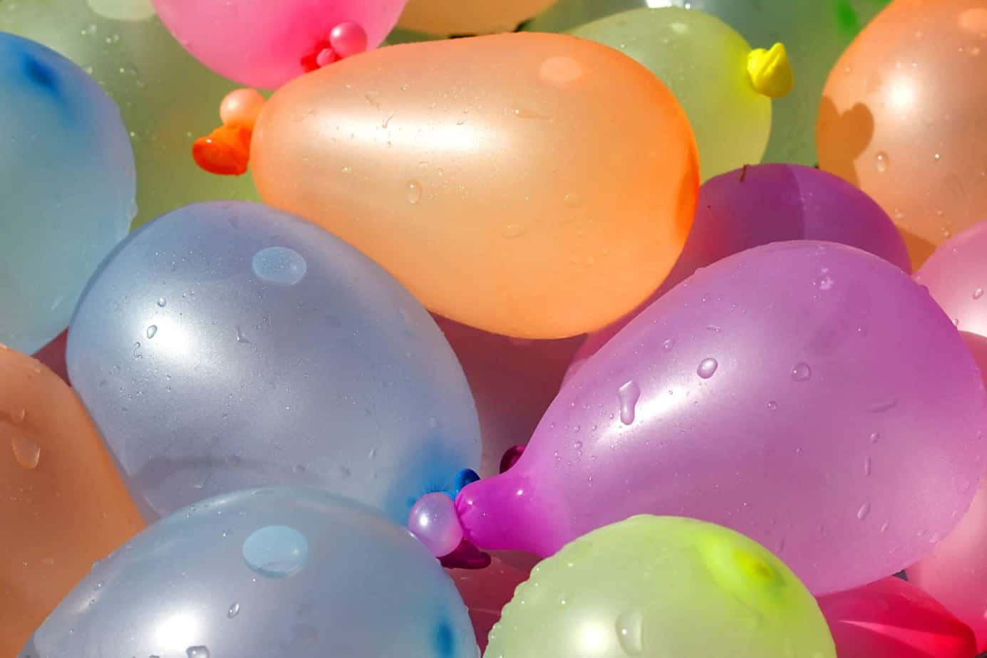 water balloons are a fun outdoor activity for kids